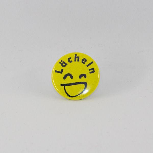 Button Smiley Lächeln in 25 mm