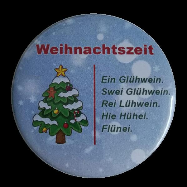 Weihnachtszeit Glühwein button