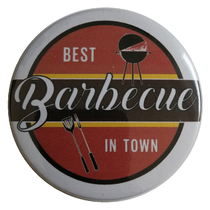 Best Barbecue in Town Button