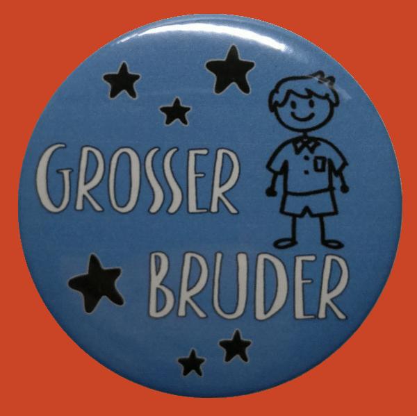 Großer Bruder Button