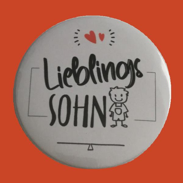 Lieblingssohn Button 59mm